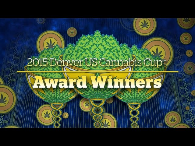 2015 Denver Cannabis Cup: Award Winners