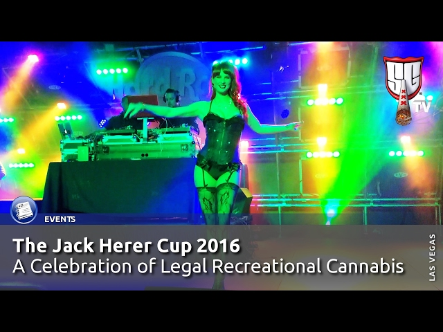 Jack Herer Cup 2016 in Las Vegas - Smokers Guide TV Nevada