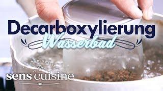 Decarboxylierung von Cannabis im Wasserbad | sens cuisine - Rezepte